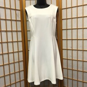 Sharagano Dress Ivory Sz 12